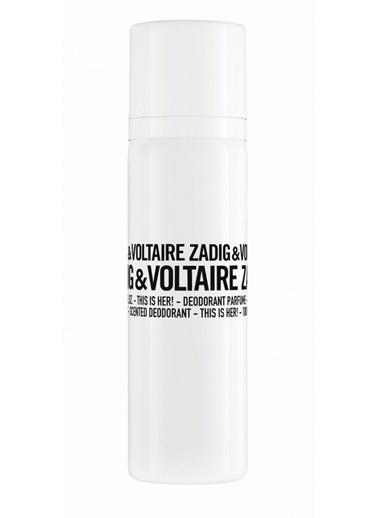 Zadig&Voltaire This Is Her! Scented Deodorant Spray 100 Ml Renksiz
